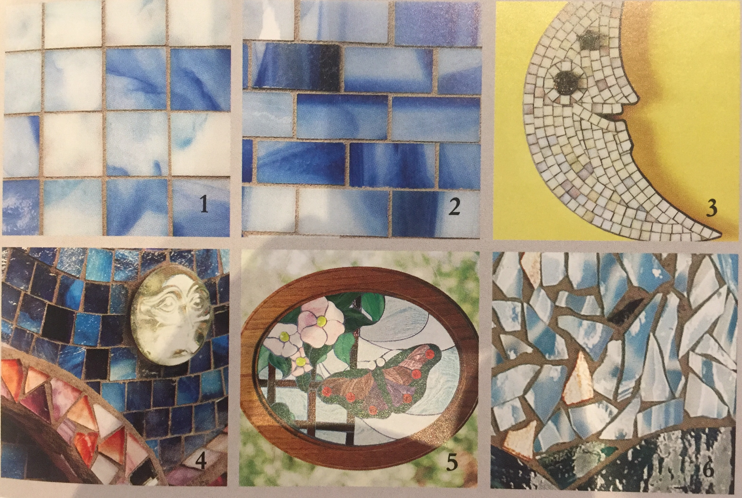 What Are The Methods of Applying Tesserae?